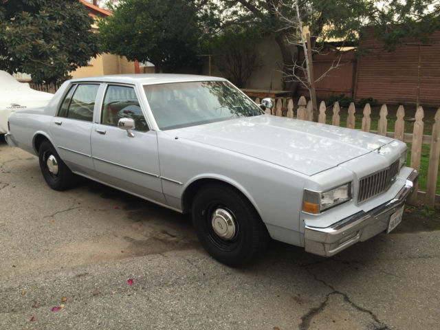 1987 Chevrolet Caprice 9C1 police package