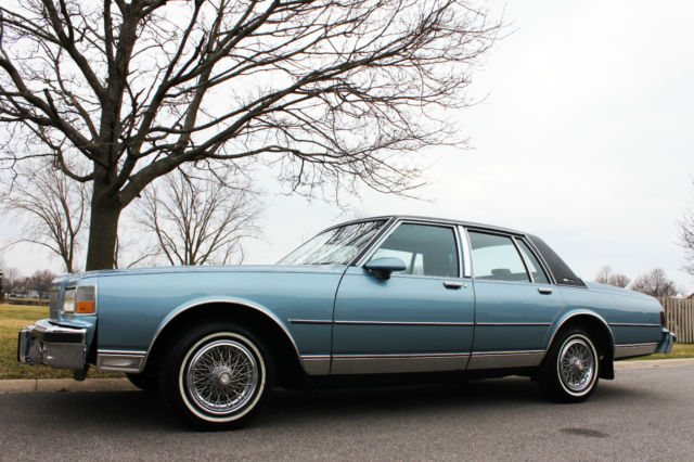 1987 Chevrolet Caprice 40k Low Miles Clean One Owner