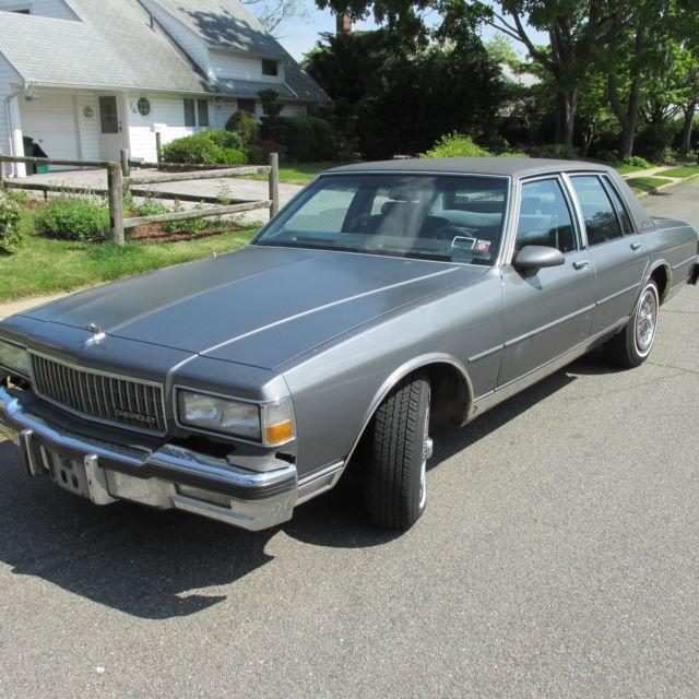 1993 Cadillac Brougham For Sale: 1987 Chevrolet Caprice Classic LS Brougham Sedan 4-Door 5.0L 81,500 Miles WOW!!! For Sale
