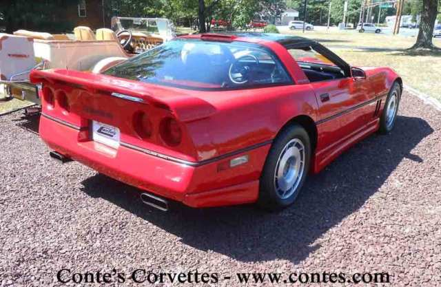 1987 chevrolet corvette callaway twin turbo b2k coupe for sale photos technical specifications. Black Bedroom Furniture Sets. Home Design Ideas