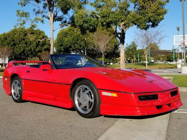 1987 Chevrolet Corvette Convertible C4 ShowCar,$25k invested