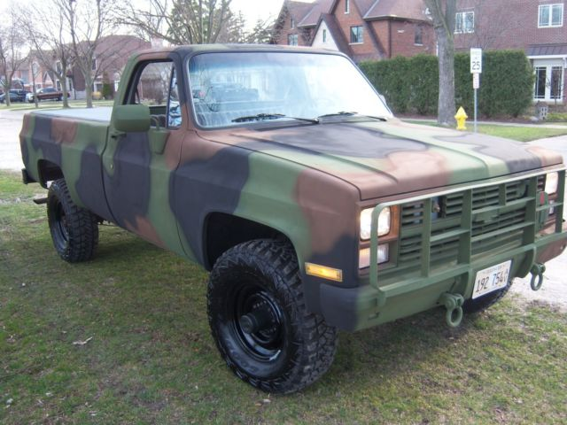 Chevy Military Truck