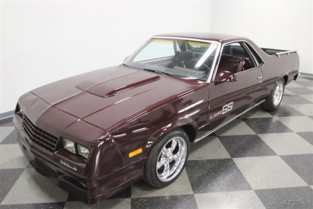 1987 Other Color Chevrolet El Camino 2 Dr Standard Cab with Other Color interior