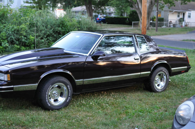 1987 Chevrolet Monte Carlo Ls 5 0l Luxury Sport For Sale