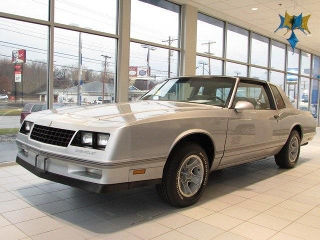 1987 Chevrolet Monte Carlo Ss Aerocoupe 15 618 Original Miles For Sale Photos Technical