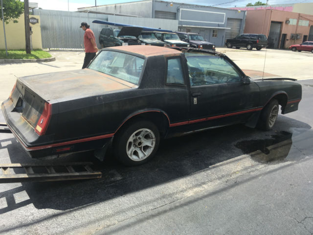 1987 chevrolet monte carlo ss t top 350 motor 350 transmission project car for sale photos. Black Bedroom Furniture Sets. Home Design Ideas