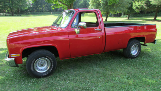 1987 Chevrolet Other Pickups Custom Delux
