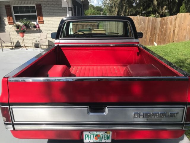 1987 Chevy C10 Silverado Short bed 2wd 6 0 LS Engine for