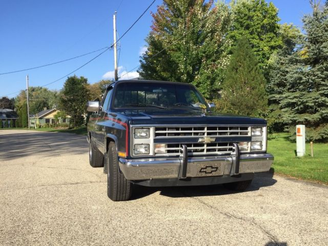 1987 chevy c10 truck for sale photos technical. Black Bedroom Furniture Sets. Home Design Ideas