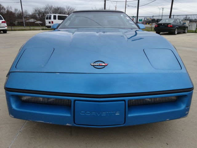 1987 Chevrolet Corvette HARD TOP CONVERTIBLE
