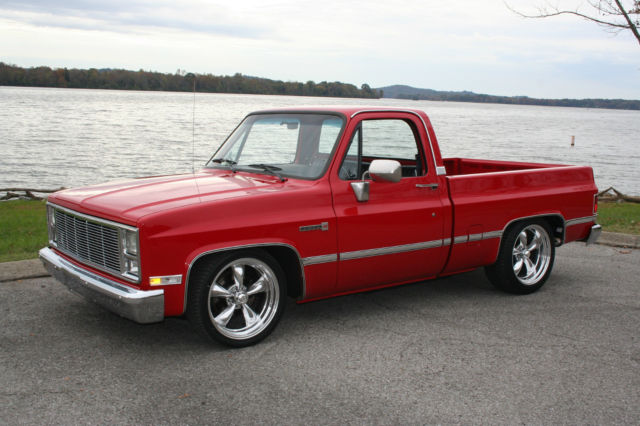 1987 Chevy Gmc C10 R10 Swb Tbi 4 5 5 5 Drop 20x8