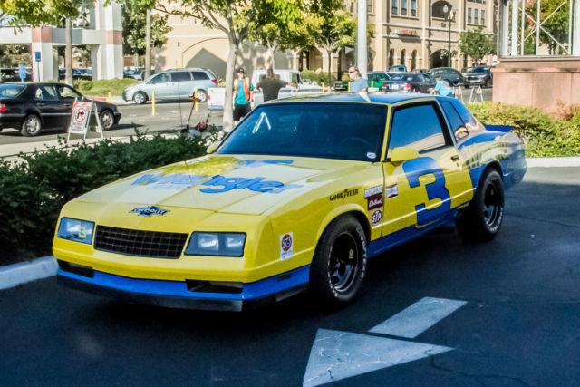 Chevy Monte Carlo Ss Aero Coupe Dale Earnhardt Wrangler Tribute Show Car