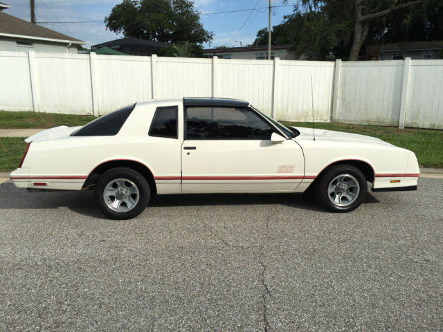1987 chevy monte carlo ss aerocoupe with only 35k orig miles t tops for sale photos technical. Black Bedroom Furniture Sets. Home Design Ideas