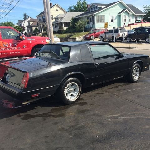 1987 chevy monte carlo ss t top classic for sale photos technical specifications description. Black Bedroom Furniture Sets. Home Design Ideas