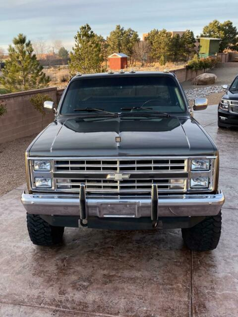 1987 Gray Chevrolet Silverado 3500 Long bed Standard Cab Pickup with Gray interior
