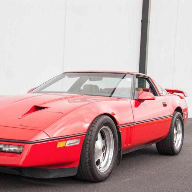 1987 corvette callaway twin turbo 28k orig miles 345 hp. Black Bedroom Furniture Sets. Home Design Ideas