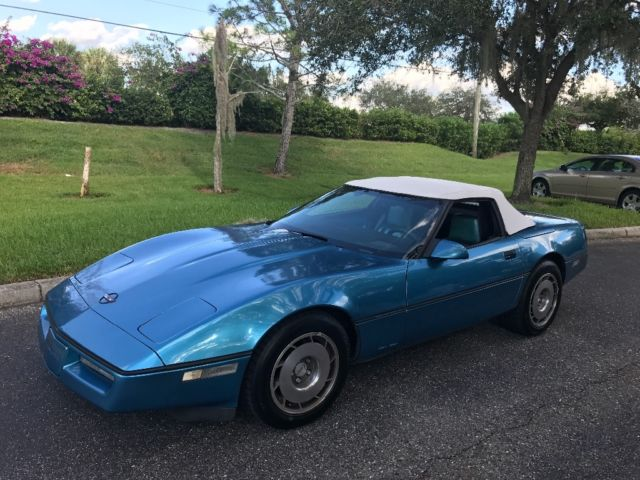 1987 Chevrolet Corvette Convertible
