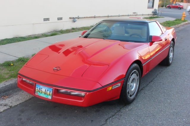 1987 Chevrolet Corvette COUPE TARGE TOP