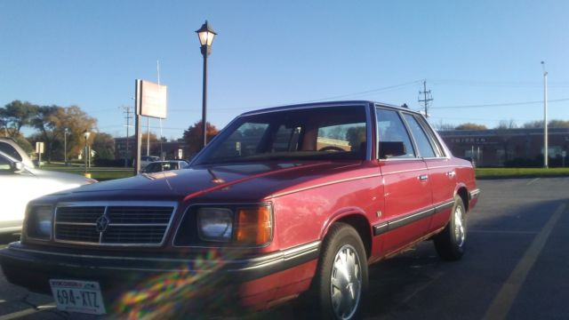 1987 Dodge Other LE
