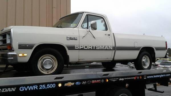 1987 Dodge D150 Sportsman 318 4 Sd Manual Transmission