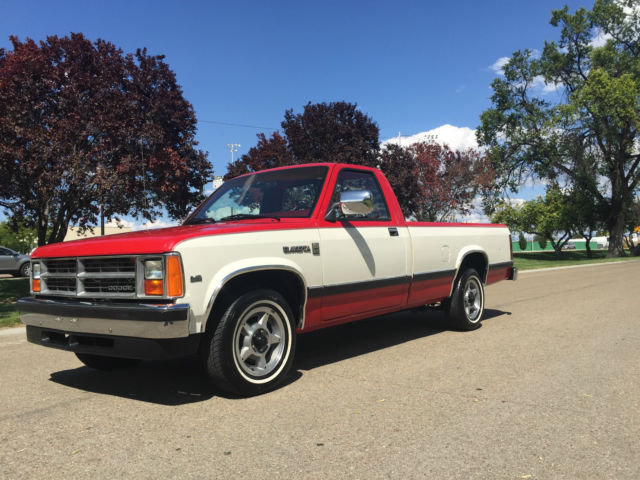 1987 dodge dakota le one owner with only 87k actual milies. Black Bedroom Furniture Sets. Home Design Ideas