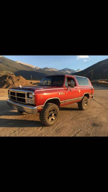 1993 Dodge Ramcharger W250 Cummins