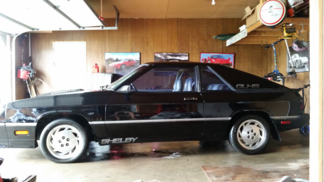 1987 Dodge Charger shelby glhs