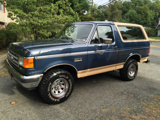 1987 Ford Bronco 37k Actual Mile 100% ORIGINAL PAINT SURVIVOR!!