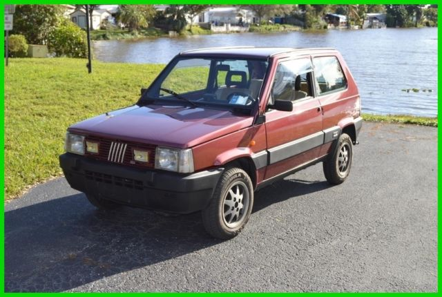 1987 fiat panda 4x4 4wd off road for sale photos technical specifications description. Black Bedroom Furniture Sets. Home Design Ideas