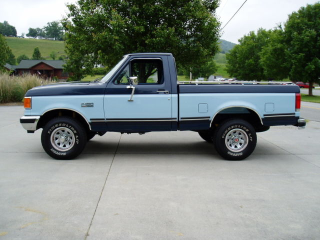 1987 ford f 150 xlt lariat 4x4 restored show truck for sale photos technical. Black Bedroom Furniture Sets. Home Design Ideas
