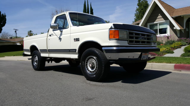 Ford F X Xlt Lariat Short Bed on 1986 Ford F 150 5 0 Efi Engine