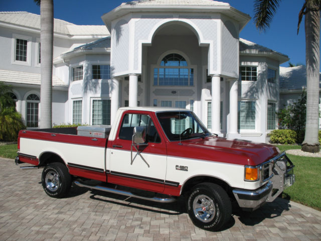 1987 Ford F150 >> 1987 Ford F150 Xlt Lariat 4wd Completely Restored 351 V8 At