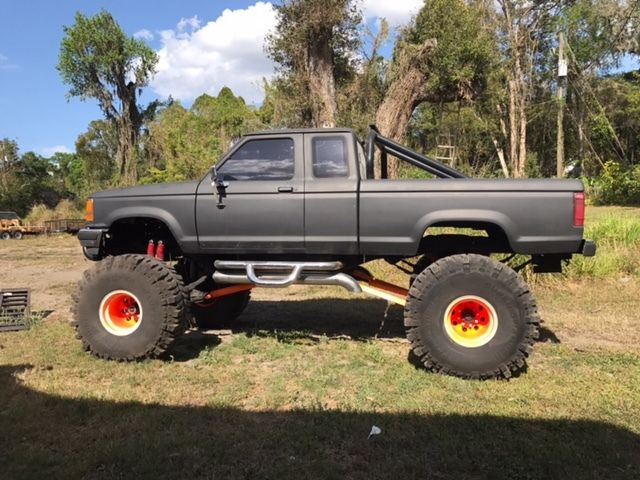 Mud Trucks For Sale >> 1987 Ford Ranger Extended Cab Mud Truck For Sale Photos