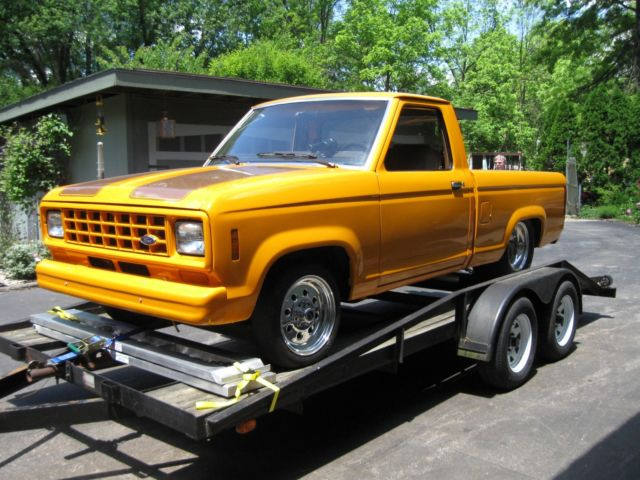 1987 ford ranger pickup truck for sale photos technical specifications description. Black Bedroom Furniture Sets. Home Design Ideas