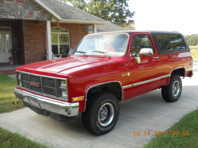 1987 gmc jimmy sierra classic for sale photos technical specifications description topclassiccarsforsale com