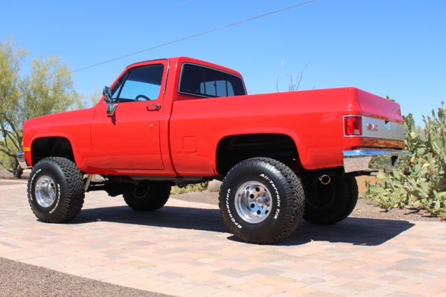 Chevy K20 For Sale >> 1987 GMC short bed truck k15 4x4 twin to a chevy k 10 6 inch lift new paint for sale: photos ...
