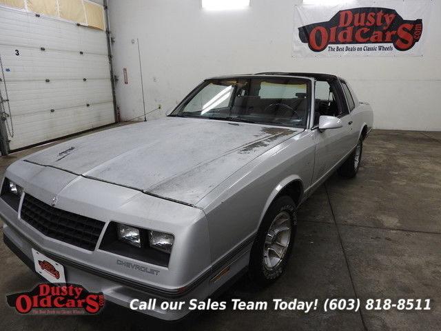 1987 Chevrolet Monte Carlo Sport SS Runs Drives Body Inter Vgood