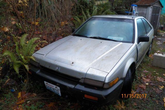 1987 Honda Accord Hatchback Manual 5spd For Sale Photos Technical