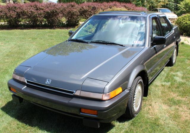 1987 honda accord lxi original one owner 38k miles