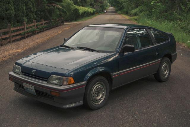1987 Honda Civic Crx Hf No Rust Newly Rebuilt Engine For Sale