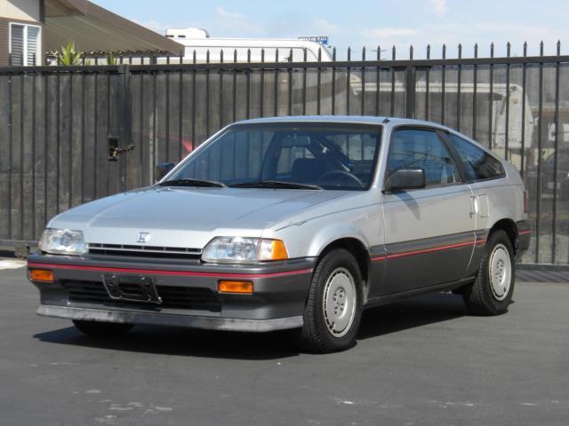 1987 Honda Civic CRX *Museum Condition* Super Low Miles ...