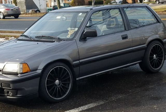 1987 Honda Civic Si 5 Spd For Sale Photos Technical Specifications