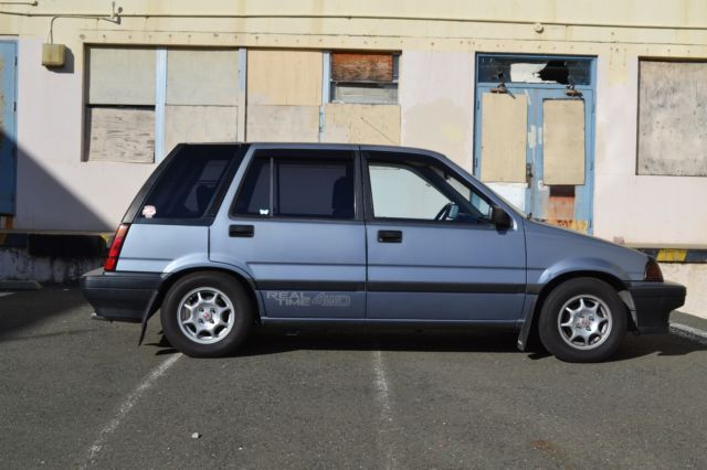 1987 honda civic wagon rt4wd for sale photos technical. Black Bedroom Furniture Sets. Home Design Ideas
