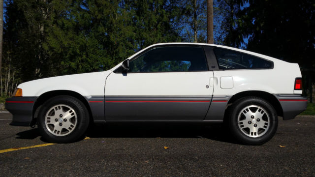 1987 Honda CRX 2-Door Hatchback