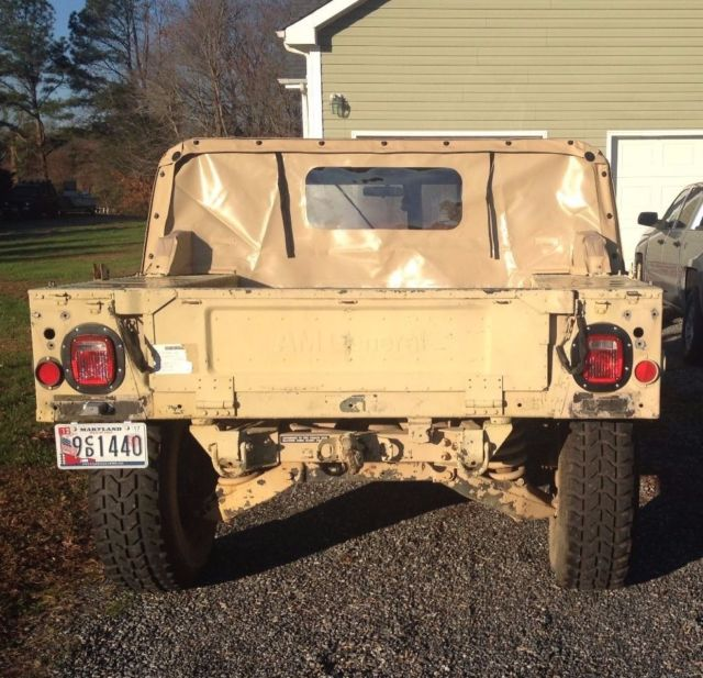 Purchase Used 2008 Crew Cab Diesel 2 Wheel Drive: 1987 Humvee Hummer H-1 M998 HMMWV 100% Street Legal For