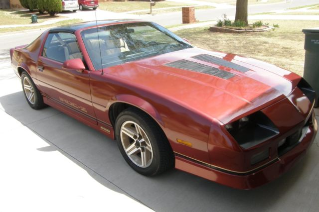 1987 iroc z camaro 5 7 350 t top for sale photos. Black Bedroom Furniture Sets. Home Design Ideas