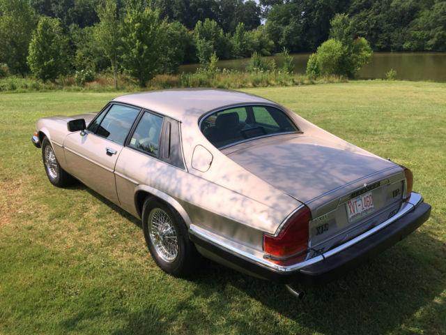 1987 Jaguar XJS V12 - ONE OWNER !! for sale: photos, technical specifications, description