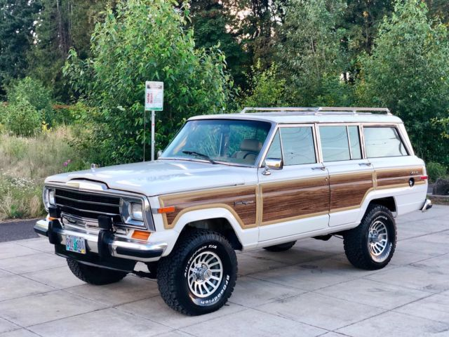 1987 JEEP GRAND WAGONEER LOW MILES 72K 4.0L INLINE 6 WRANGLER CHEROKEE CHIEFTAIN