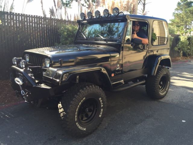 1987 jeep wrangler yj 4 2l 6 cyl restored for sale photos technical specifications. Black Bedroom Furniture Sets. Home Design Ideas