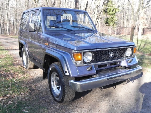 1987 Toyota Land Cruiser Turbo Diesel 5-Speed